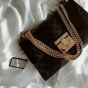 AUTHENTICATED Gucci Padlock Medium